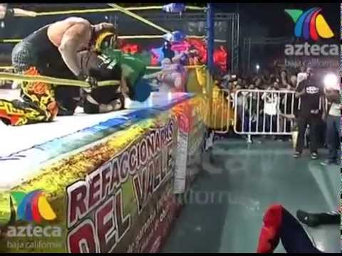Official footage AAA Perro Aguayo Jr. dies match vs Rey Mysterio former wwe superstar