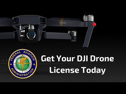 Register your DJI Drone with Federal Aviation Administration in 5 minutes