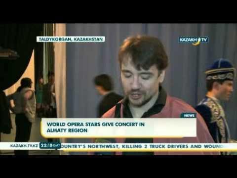 World opera stars give concert in Almaty region