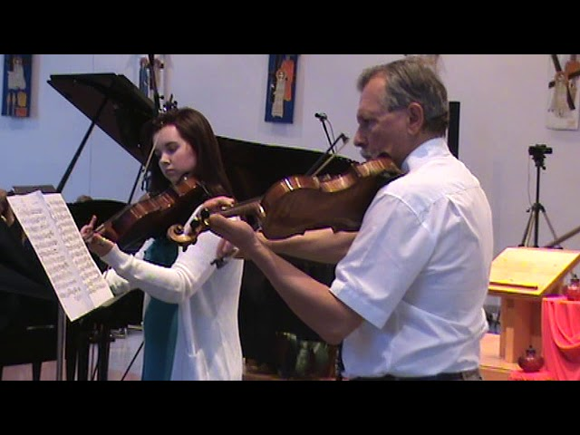 Mozart, W.A. Duet for Violin and Viola 1st mvt.