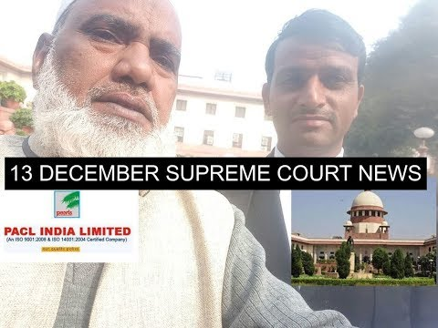PACL NEWS 13 DECEMBER - SUPREME COURT NEWS FOR YOU