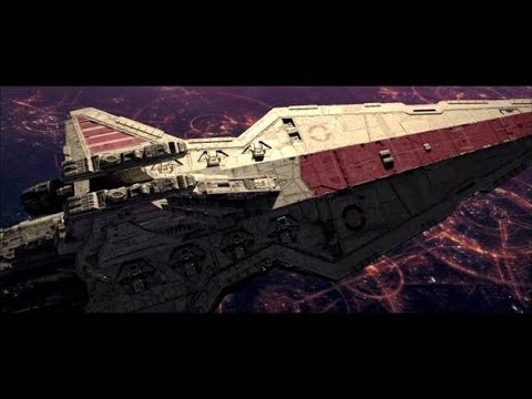 Star Wars Episode III Revenge of the sith (part 1 of 9) Battle over coruscant
