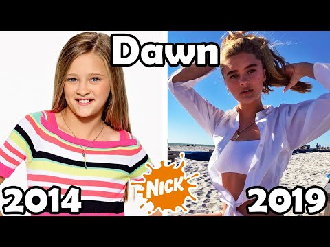 Nickelodeon Famous Girls Then and Now 2019 🔥