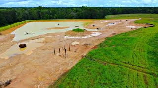 Building a 5 Acre Pond! (The Final Chapter)