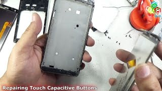 Repairing Touch Capacitive Button of Mobile Phone (Redmi 2)
