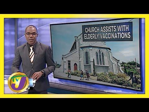 Jamaica's Day 2: Vaccinating Senior Citizens | TVJ News