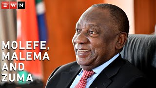 In an interview with EWN and 702, African National Congress leader and President Cyril Ramaphosa responds to Brian Molefe allegations; comments on Julius Malema and the COVID-19 vaccine; and Duduzane Zuma running for president.  #Ramaphosa #Zondo #Malema