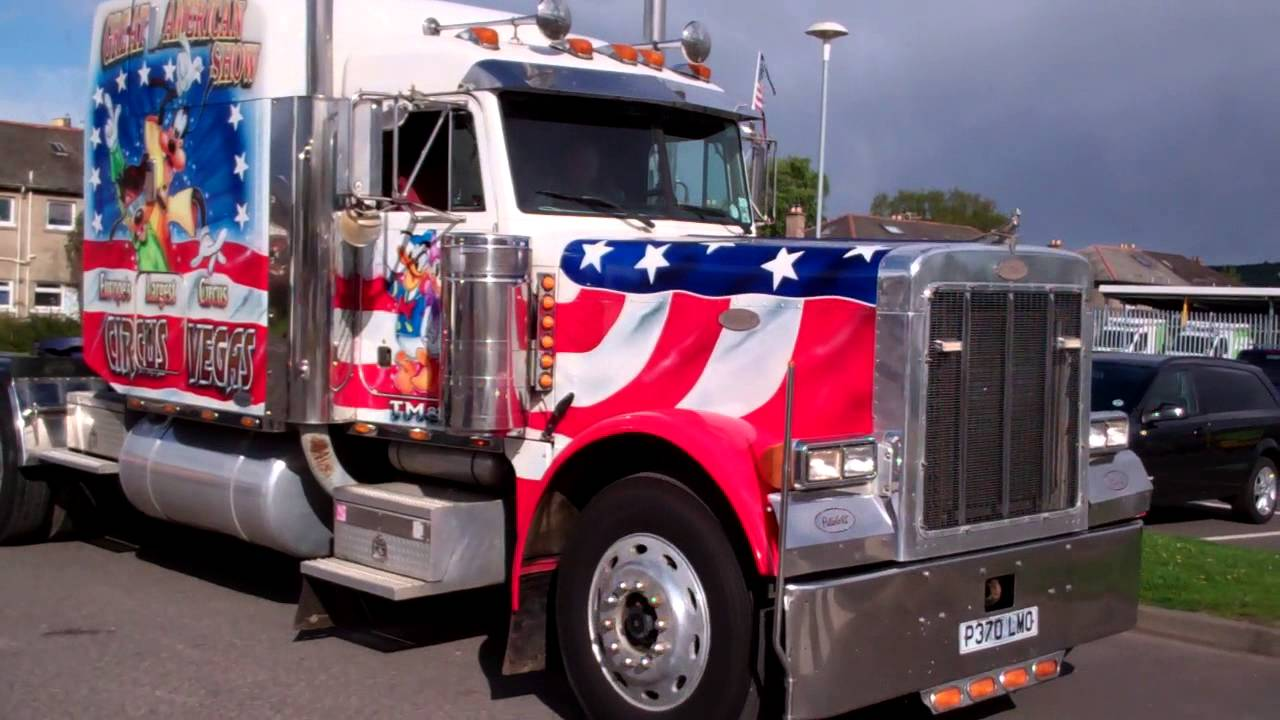 Vegas Circus American Trucks Perth Perthshire Scotland