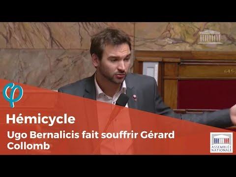 Ugo Bernalicis fait souffrir Gérard Collomb