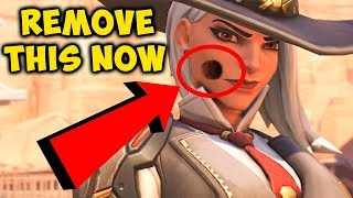 OVERWATCH FORUM CRIERS: REMOVE THE MOLE ON ASHE'S FACE thumbnail