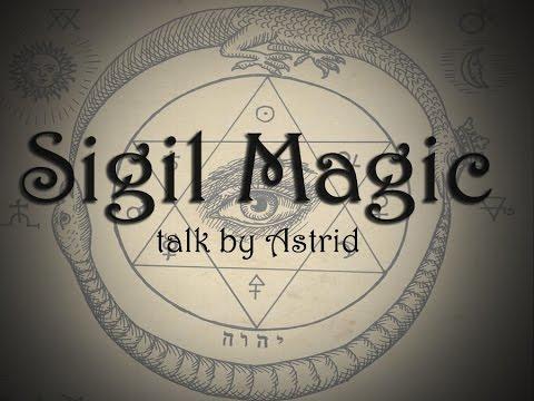 """Sigil Magick: Talk by Astrid aka """"The Artchemist"""""""