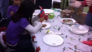 Children Christmas Party @ Cfb Borden #3 - The Making Of Ginger Bread Men