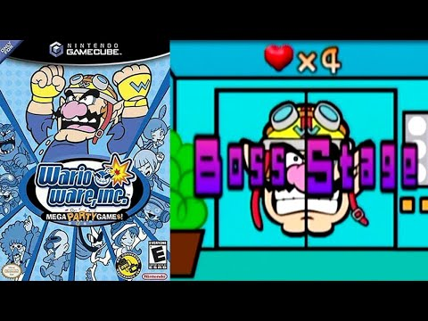 Wario Ware, Inc  Mega Party Game$! [36] GameCube Longplay