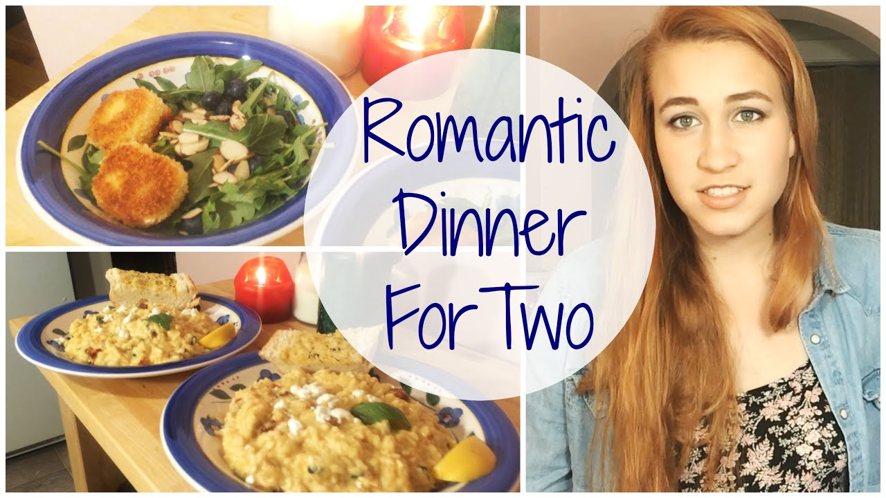 romantic dinner for two risotto and fried goat cheese salad recipe youtube - Easy Valentine Dinner Recipes