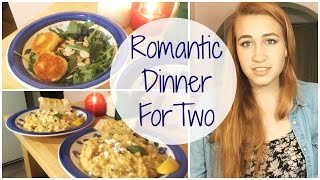 Romantic Dinner For Two: Risotto And Fried Goat Cheese Salad Recipe
