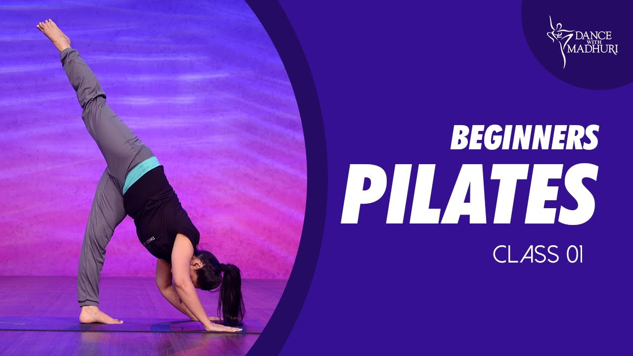 Pilates Fitness Workout 1   Easy To Follow Home Exercise for Beginners   Dance With Madhuri