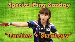 Table Tennis Strategy to Win