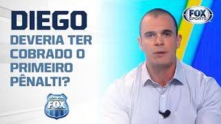 'UMA AFRONTA AO TAMANHO DA HISTÓRIA DO FLAMENGO': Mano sobre cobrança de pênalti do Diego