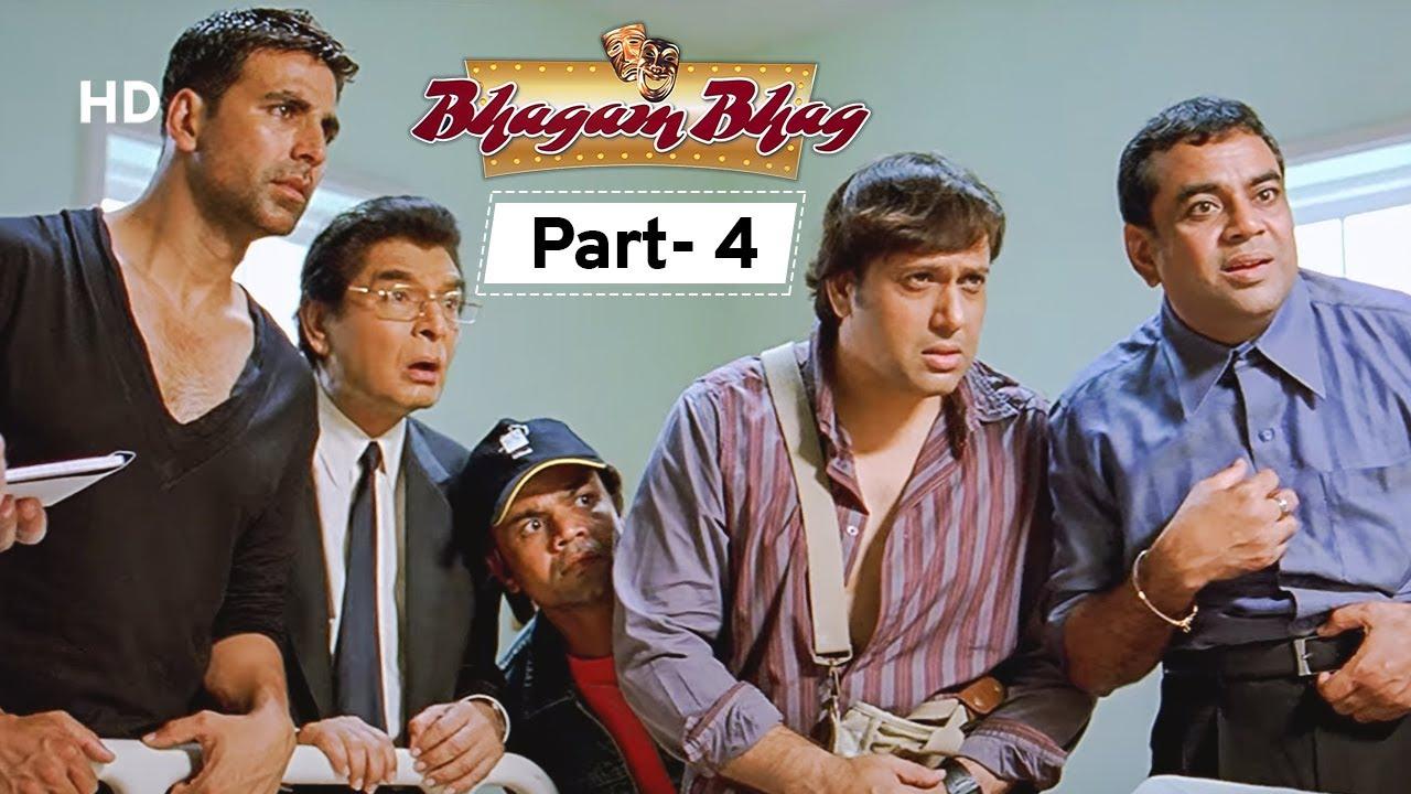 Download Bhagam Bhag - Movie In Parts 04   Akshay Kumar - Govinda - Lara Dutta - Paresh Rawal