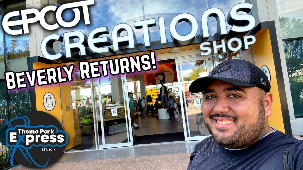 *NEW* Epcot Creations Shop Opens! Club Cool Returns And There's A Soda Worse Than Beverly!?