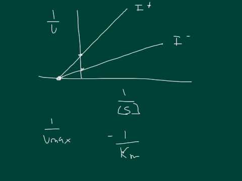 Enzyme Kinetics: Noncompetitive inhibition and Uncompetitive inhibition