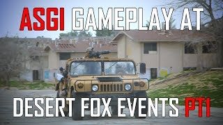 HUMVEES AND FLYING BBs  (Desert Fox Events: Battle For Los Angeles 2 Retribution)  - Airsoft GI