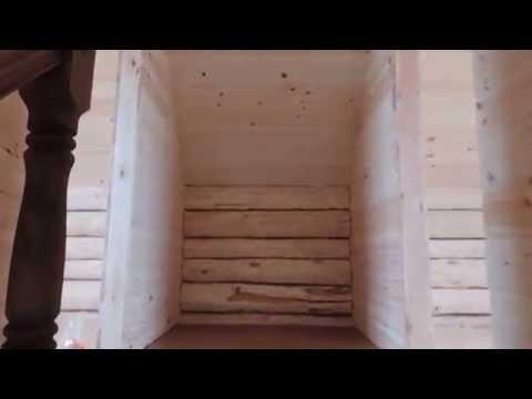 видео: рубленый дом 7*5