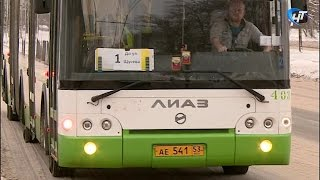 В Великом Новгороде организовано движение автобусов №1, №24 через Деревяницкий мост