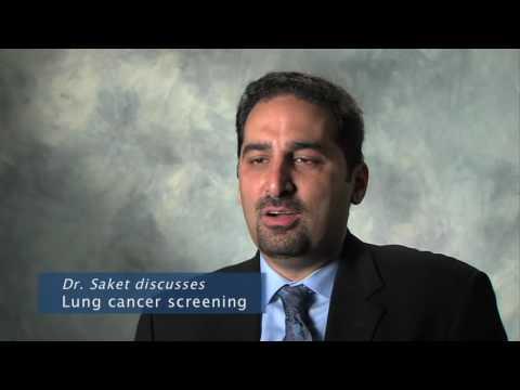 Daniel Saket MD lung cancer screening