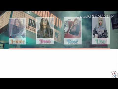 Black Pink - Stay [Karaoke ver.] Color Coded lyrics [Instrumental/Kpop]