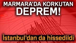 Yalova'da 4.3 Büyüklüğünde Deprem, İstanbul'da da Hissedildi