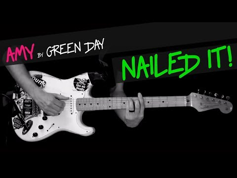 Amy - Green Day guitar cover by GV +chords