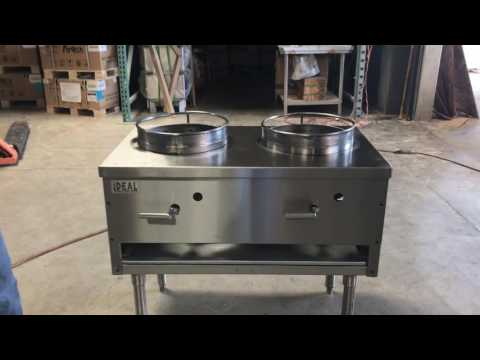 Two Hole  Chinese Wok Oven