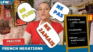 Practise your French negations