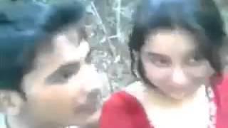 Cute Bangali Couple At Joungle