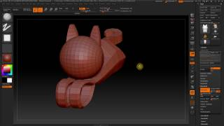 ZBrush: how to set the pivot point of an object