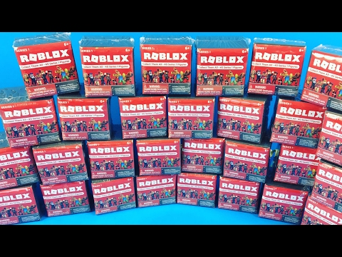 Opening a ton of Roblox Blind Boxes!