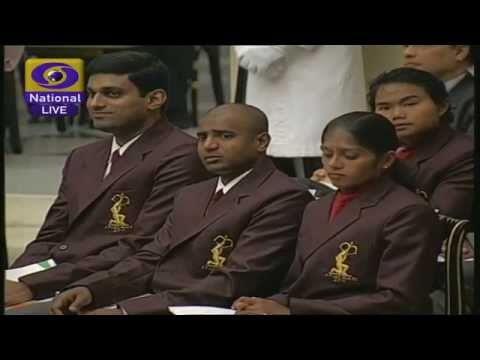 The National Sports and Adventure Awards from Rashtrapati Bhawan LIVE