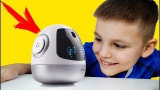 Игорюша хочет делать уроки с РОБОТОМ ЕМЕЛЯ !!! Видео для детей