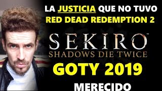 SEKIRO GOTY 2019 : SE HIZO JUSTICIA A FROM SOFTWARE ( THE GAME AWARDS 2019) -CRÍTICA