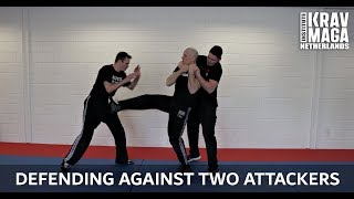 Krav Maga Technique of the Week: Defending Against Two Attackers, with Heath Leavitt