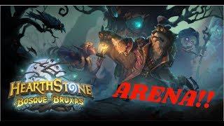 Hearthstone - Bosque das bruxas (The Witch Wood) - Arena