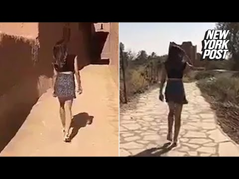 Young Saudi woman sparks controversy with mini skirt video | New York Post