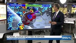 Watch live: David Paul gives updates on severe weather near College Station