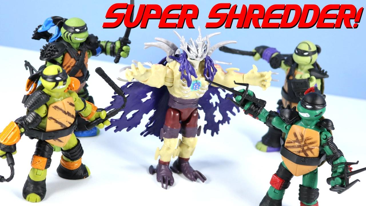 Teenage Mutant Ninja Turtles Shredder Toy : Tales of the teenage mutant ninja turtles super shredder youtube