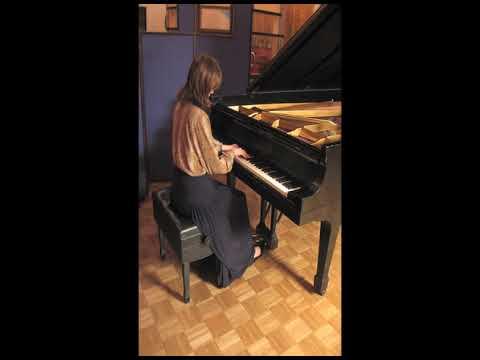 Kaila Rochelle - Beethoven: Piano Sonata Nr.9 - 2nd mvt Allegretto - Brooklyn College 1999