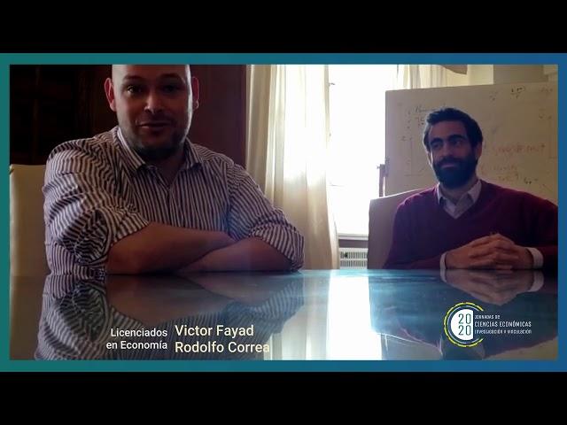 Egresados FCE - Victor Fayad y Rodolfo Correa