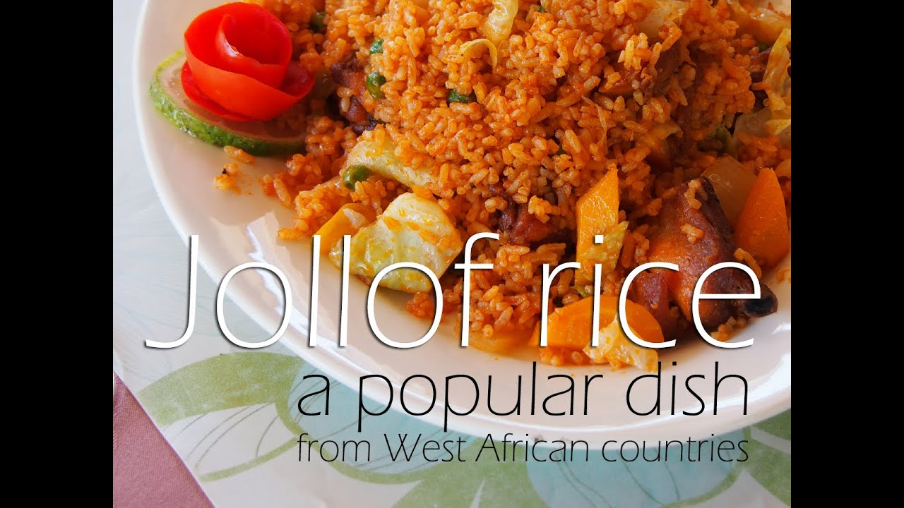 Africarice recipes jollof rice youtube ccuart Gallery