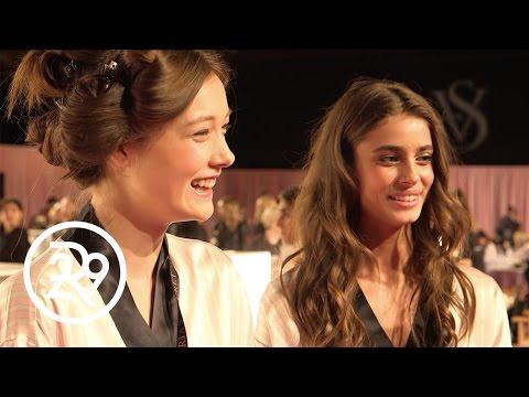 Victorias Secret Angels Teach Us The Runway Walk  Annie Cam  Refinery29