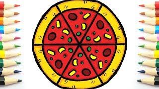 Como Dibujar Una Pizza Netliguista